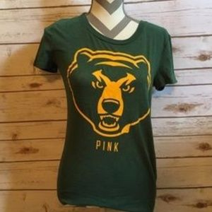 Pink VS Baylor Bear Collegiate Division Tshirt